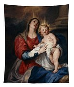 The Virgin And Child Tapestry