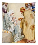 The Visit Of The Wise Men Tapestry
