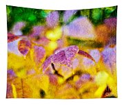 The Warmth Of Autumn Glow Abstract Tapestry