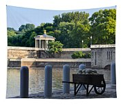 The Waterworks Wheelbarrow - Philadelphia Tapestry