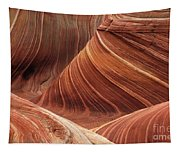 The Wave Into The Fold Tapestry