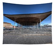The Welsh Assembly Building 2 Tapestry
