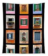 The Windows Of Venice Tapestry