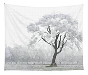 The Winter's Embrace Tapestry