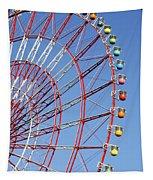The Wonder Wheel At Odaiba Tapestry