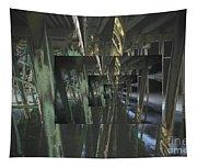 The World Under The Bridge  Tapestry