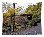 Thomas Mill Covered Bridge Over The Wissahickon Tapestry