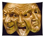 Three Faces Tapestry
