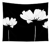 Three Feeling White Tapestry