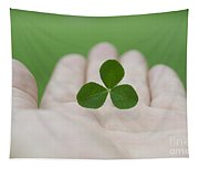 Three Leaf Clover Tapestry