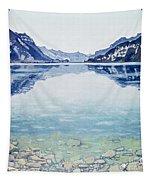 Thunersee Von Leissigen Tapestry