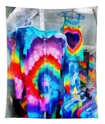 Tie Dye Shirts Tapestry