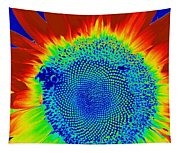 tiedyed Sunflower Tapestry