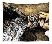 Tiger Falls Tapestry