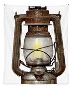 Time Worn Kerosene Lamp Tapestry