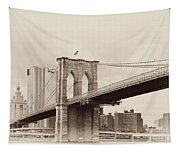 Timeless-brooklyn Bridge Tapestry