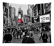 Times Square New York Toc Tapestry