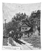 Toll Gate, 1879 Tapestry
