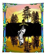 Amber Lake #2 Tapestry