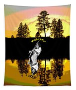 Amber Lake #3 Tapestry