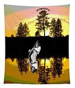 Amber Lake #4 Tapestry