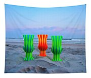 Topsail Hurricane Glasses Tapestry