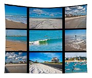 Topsail Island Images Tapestry