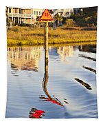 Topsail Sound Sunset Tapestry