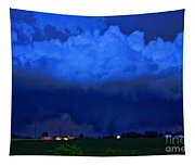 Tornado Over Madison 4 Tapestry