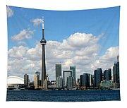 Toronto Skyline 10 Tapestry