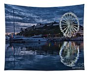 Torquay Marina And The Big Wheel Tapestry