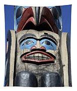 Totem Pole 8 Tapestry