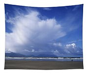 Tourists On The Beach, Inch Beach Tapestry