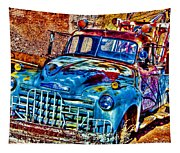 Tow Truck Tapestry