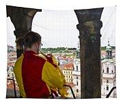 Tower Trumpeter - Prague Tapestry