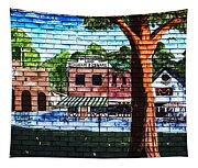 Town Wall Art Tapestry