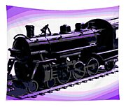 Toy Train Tapestry