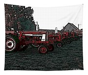 Tractor Row Tapestry
