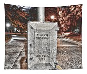 Traffic Control Box Tapestry