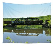 Train And Trestle Tapestry