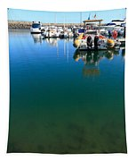 Tranquility At The Marina Tapestry