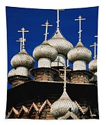 Transfiguration Cathedral On Kizhi Tapestry