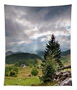 Transylvania Landscape - Romania Tapestry