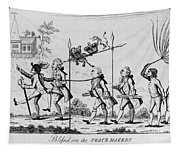 Treaty Of Paris, 1783 Tapestry