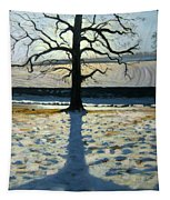 Tree And Shadow Calke Abbey Derbyshire Tapestry