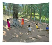 Tree Swing Tapestry