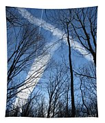 Trees And Trails Tapestry