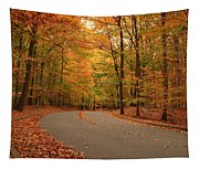Trees Of Autumn - Holmdel Park Tapestry