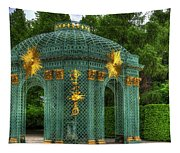 Trellis At Schloss Sanssouci Tapestry