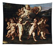 Triumph Of Cupid Tapestry